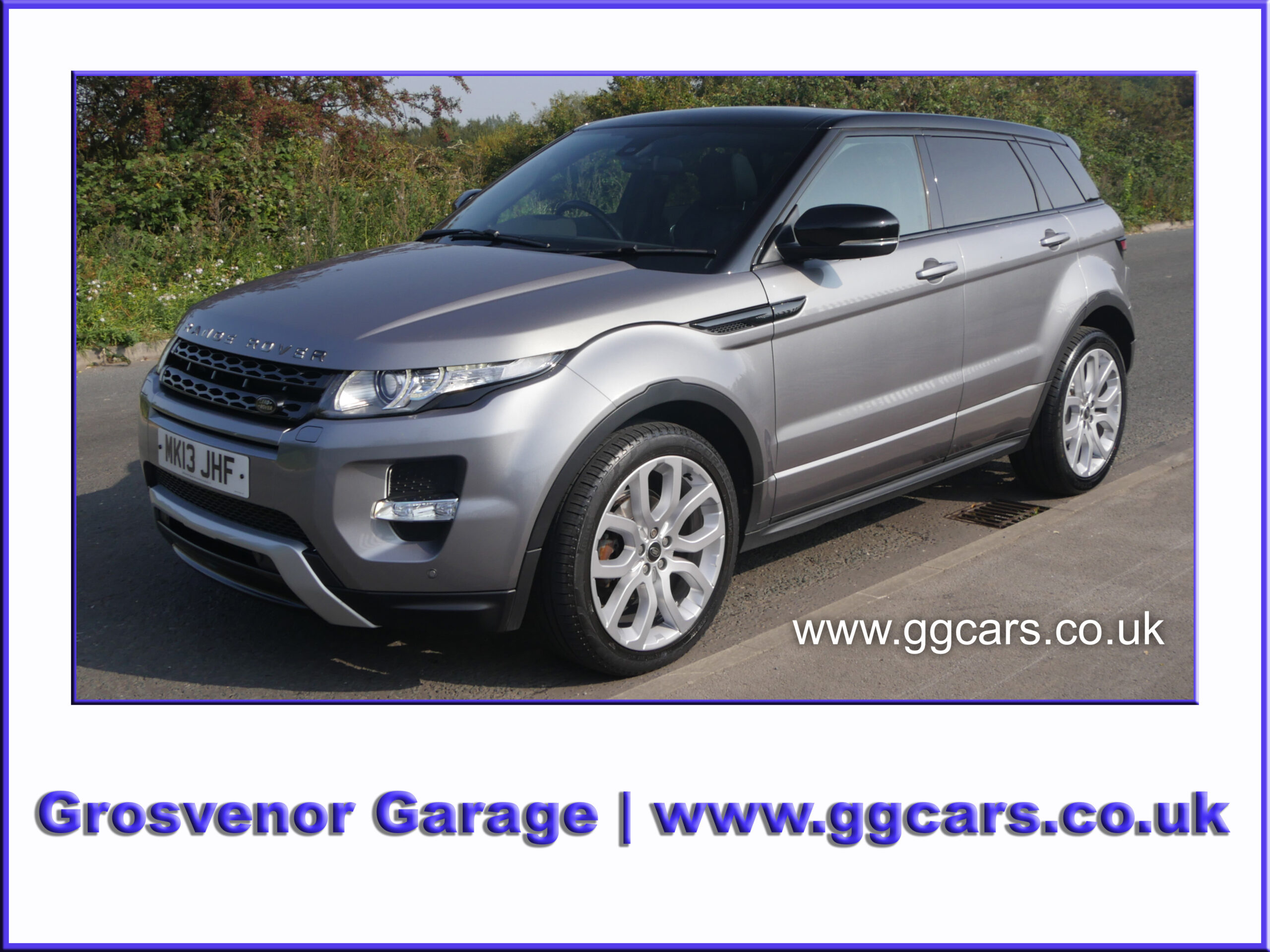 2013 (13) RANGE ROVER EVOQUE 2.2 SD4 DYNAMIC 5DR AUTOMATIC