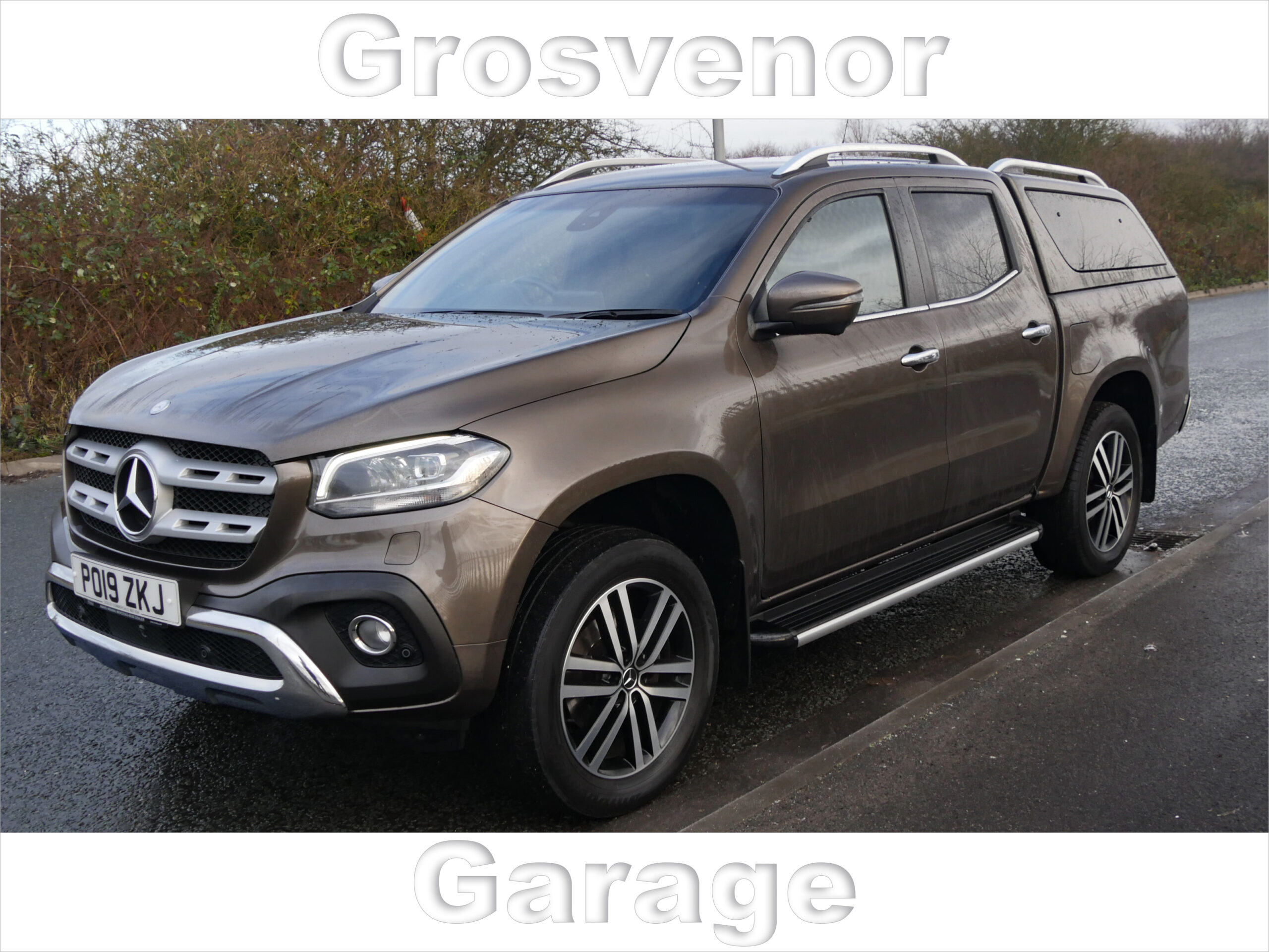 2019 (19) MERCEDES-BENZ X-CLASS X250 D 4MATIC POWER 2.3 X250 D