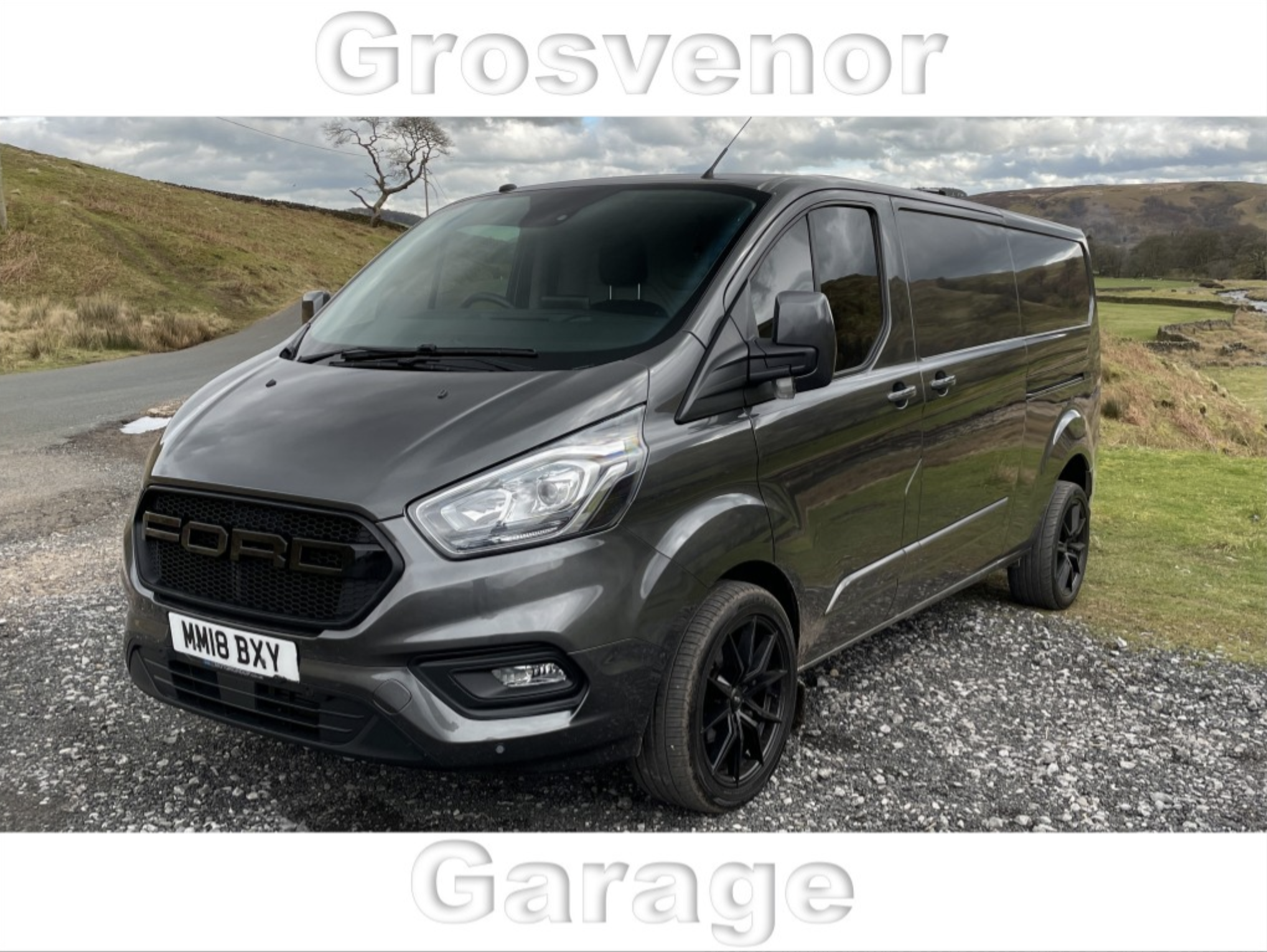 2018 (18) FORD TRANSIT CUSTOM 2.0 300 LIMITED P/V L2 H1