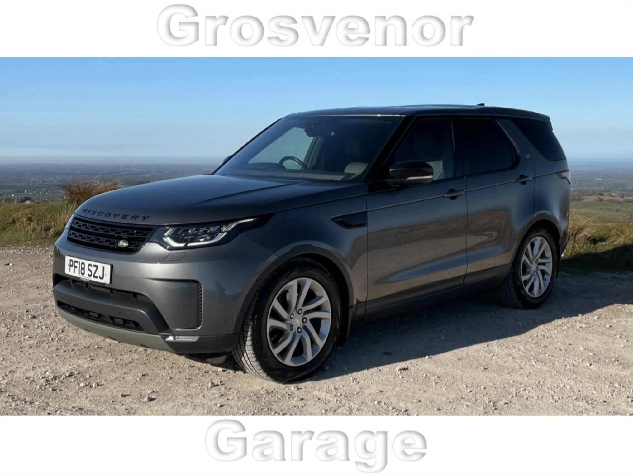 2018 (18) LAND ROVER DISCOVERY 3.0 COMMERCIAL TD6 HSE AUTOMATIC