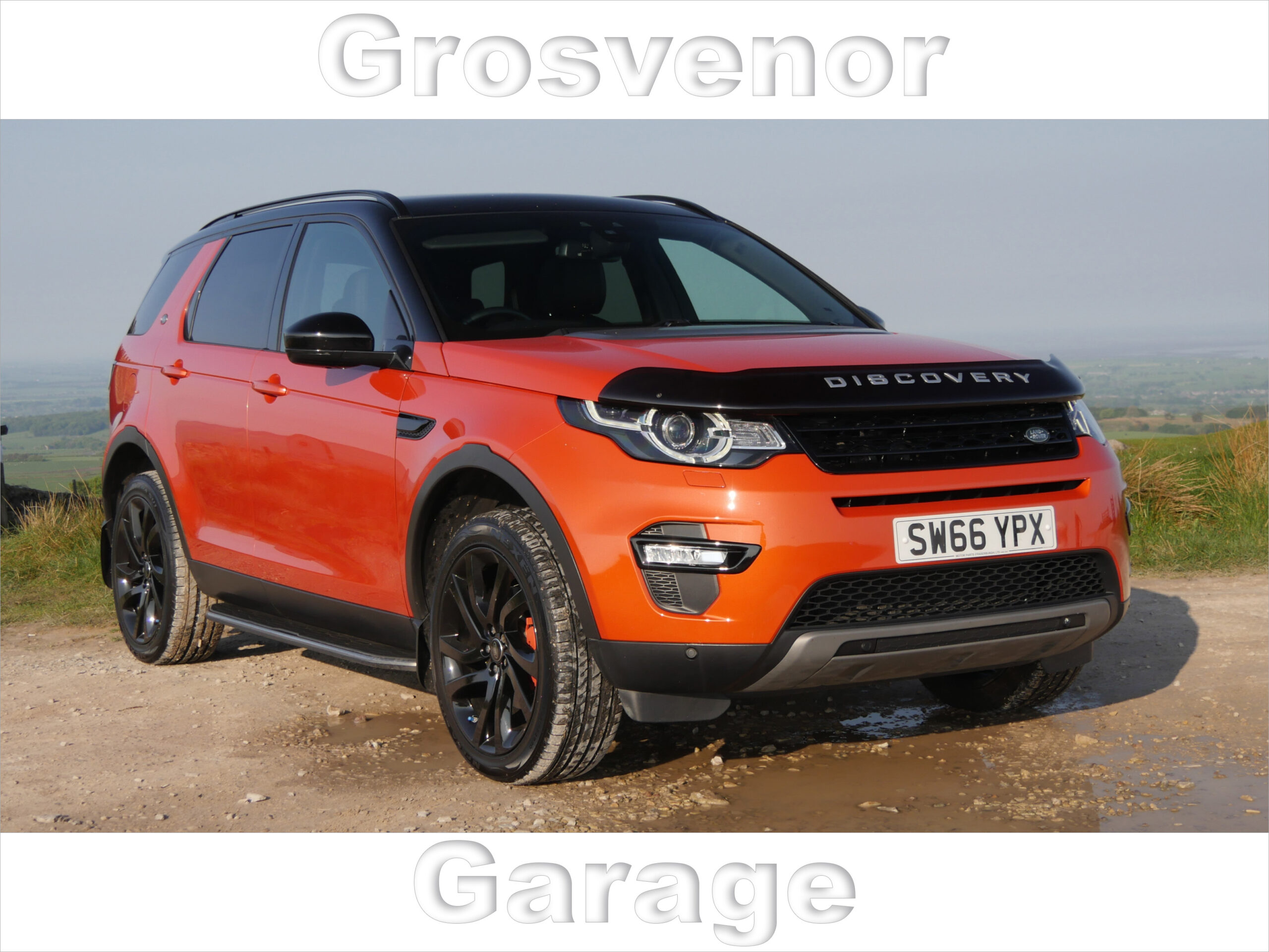 2016 (66) LAND ROVER DISCOVERY SPORT 2.0 TD4 HSE BLACK 5DR AUTOMATIC