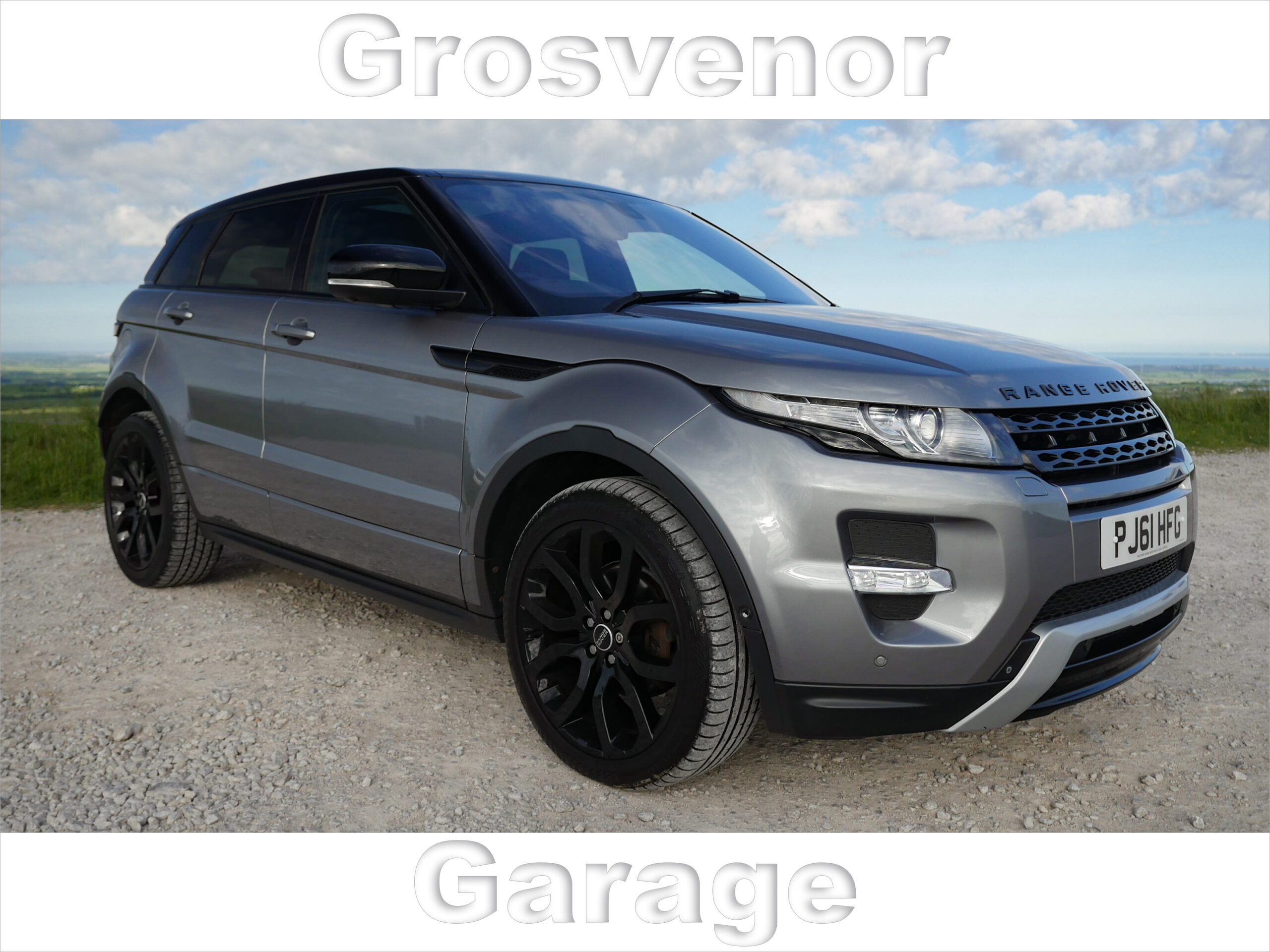 2012 (61) LAND ROVER RANGE ROVER EVOQUE 2.2 SD4 DYNAMIC LUX 5DR AUTOMATIC