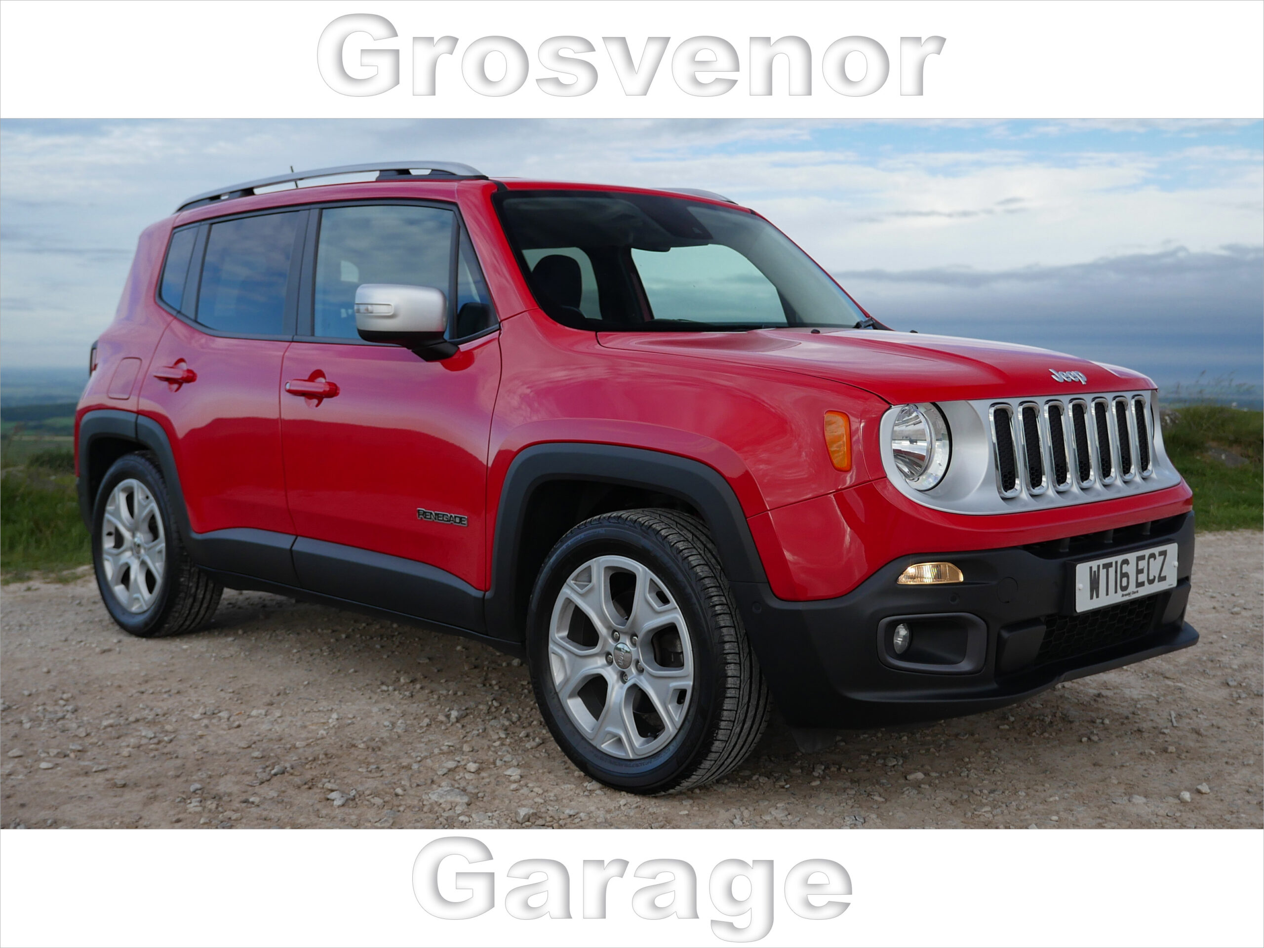 2016 (16) JEEP RENEGADE 1.6 M-JET LIMITED 5DR