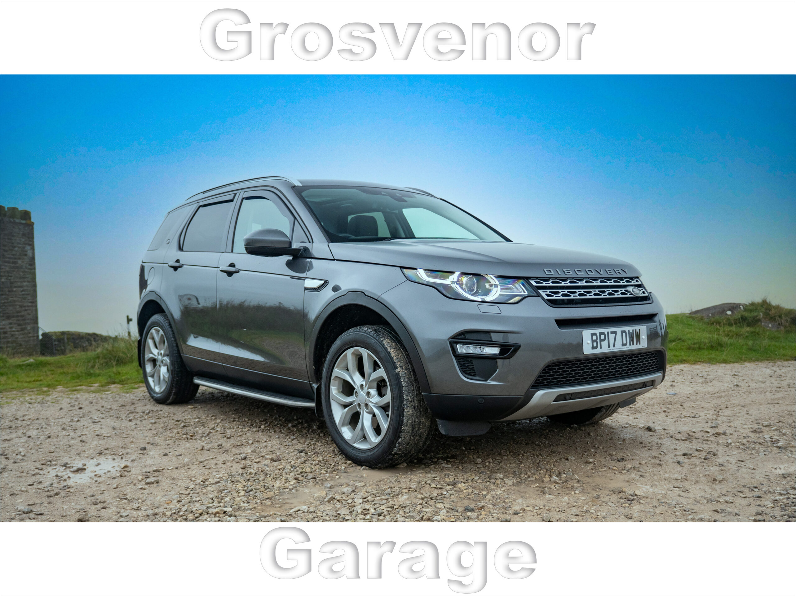 2017 (17) LAND ROVER DISCOVERY SPORT 2.0 TD4 HSE 5DR