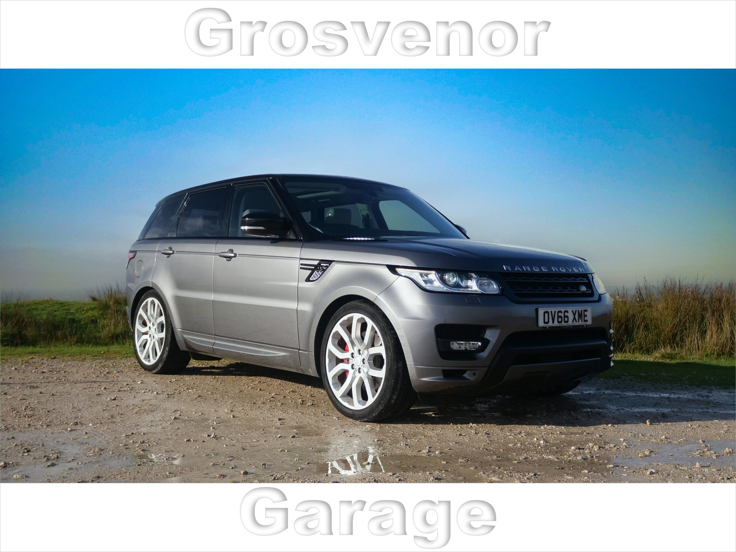 2016 (66) LAND ROVER RANGE ROVER SPORT 3.0 SDV6 AUTOBIOGRAPHY DYNAMIC 5DR AUTOMATIC